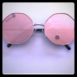 Three olives hexagon sunglasses
